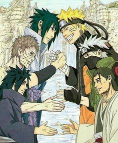 naruto, obito, and anime -kuva