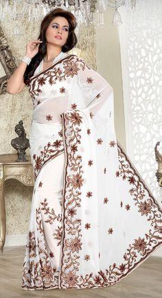$53.00 Indian #saree♥http://www.kolkozy.com/♥ To order/enquire, please email us to: info@kolkozy.com