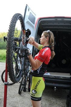 """blah blah, some sexist shit about 'omg women actually being able to fix bikes…"