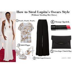 Lupita's Oscar Style by #jakiishoes