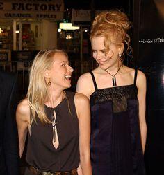 Naomi Watts and Nicole Kidman Colleen Dewhurst, Lucie Arnaz, Jean Smart, Daryl Hannah, Linda Evans, Vanessa Redgrave, Carly Simon, Shirley Maclaine, Laura Prepon