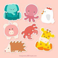 As etiquetas animais