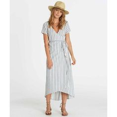 That's a wrap. Paired with strappy sandals and a sunny day, the Right Side is everything you need this season. The midi length wrap dress features a ...
