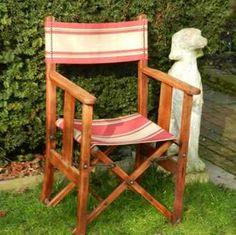 Striped Directors Chairs Wheelchair Neck Support 53 Best Lawn Images Deck Garden Beach