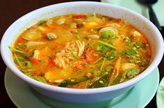 Tom Yum Goong is the classic and perhaps the most famous of the Thai soups. Here is easy and best Th