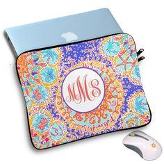 Personalized laptop sleeve,custom macbook procovers,lilly pulitzer,custom…