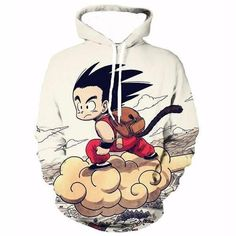 Dragon Ballz Kid Goku Hoodie