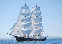 """""""MERCEDES"""" (Participant Tall Ships Race 2015) Class: A Flag: Netherlands"""