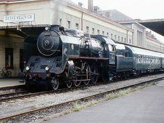 387.043 České Velenice Prague Spring, Steam Locomotive, Arrows, Techno, Transportation, Automobile, Railings, Pictures, Car