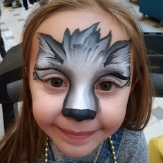 Coral Pink Nails, Festival Paint, Wolf Face, Face Paintings, Painting Inspiration, Halloween Face Makeup, Animals, Ideas, Fantasy Makeup