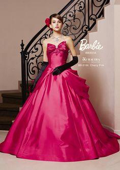 Barbie Bridal, Barbie Wedding Dress, Barbie Gowns, Barbie Dress, Pink Dress, Ball Gown Dresses, Satin Dresses, Elegant Dresses, Evening Dresses