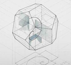 Golden ratio Dodecohedron