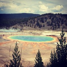 Great basin, yellowstone, WY
