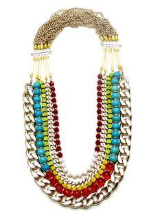 Dreams of Miami - Akong London SPRING|SUMMER 2010 - DREAMS OF MIAMI #necklace