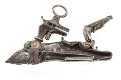 Pany miquelet fet a Nàpols a la primera meitat del XVIII.