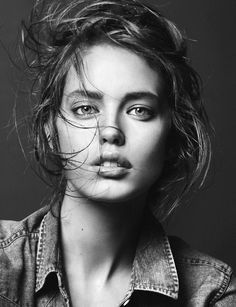 Emily DiDonato by David Sims for S/S 12 Trussardi Jeans