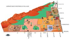 Ahwatukee Map | Maps Depicting Location of Ahwatukee Village