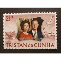 TRISTAN DA CUNHA 1972 Silver Wedding 2.5p SG174 Unmounted Mint Listing in the Tristan da Cunha,Commonwealth & British Colonial,Stamps Category on eBid United Kingdom