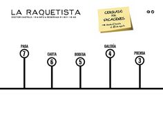 La Raquetista ı Cocina Española & Tapas