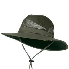 78e50184 SPF 50 Mesh Safari Hat-Olive Safari Hat, Western Hats, Sun Protection,