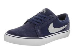 save off 7f84d 3d43f Nike Kids Satire II GS Binary BlueWolf Grey Skate Shoe 55 Kids US -- Find
