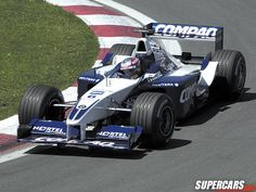 2001 Juan Pablo Montoya Williams F1 BMW FW23