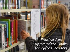Gifted Parenting Support: Finding Age Appropriate Books for Gifted Readers