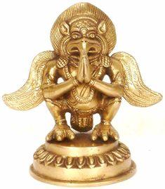 Garuda, the bird-human vahana/vehicle of the Hindu god Vishnu. (columbia.edu)