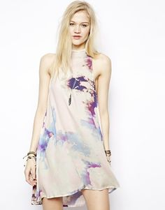 Shop the latest Somedays Lovin The Great Divide High Neck Dress trends with ASOS! Free delivery and returns (Ts&Cs apply), order today! Holiday Wardrobe, Summer Wardrobe, Asos, Online Shopping Clothes, Latest Fashion Clothes, New Outfits, Spring Fashion, High Neck Dress, Clothes For Women