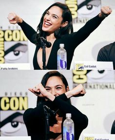 Gal Gadot as Diana Prince / Wonder Woman at SDCC2016