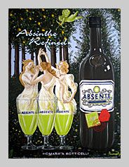 St. Augustine Art Gallery | Absente Art Collectibles | Absente Homage to Artists