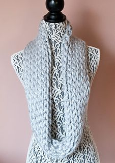 Not Knit Warm & Quick Winter Cowl by Oombawka Design  Published in Oombawka Design by Rhondda Craft Crochet Category Neck / Torso → Cowl Published December 2014 Suggested yarn Bernat Mega Bulky Yarn weight Super Bulky (5-6 wpi) ? Hook size 19.0 mm (S) Yardage 65 - 130 yards (59 - 119 m) Sizes available One Size Fits Most