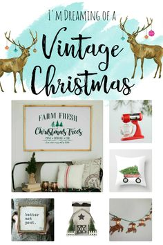 I'm Dreaming Of A Vintage Christmas..Charity Sparrow::Where Vintage Tells A Story
