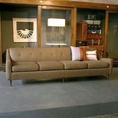 houndstooth sofa