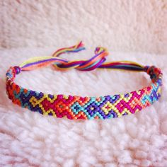 Handmade Friendship Bracelet by #rebeccaderas on #Etsy