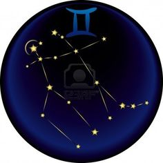 Gemini Constellation Plus The Gemini Astrological Sign Royalty Free Cliparts, Vectors, And Stock Illustration. Image 3488703.