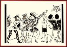 willy pogany alice | ALICE'S ADVENTURES IN WONDERLAND ORIGINAL ART: Page 130