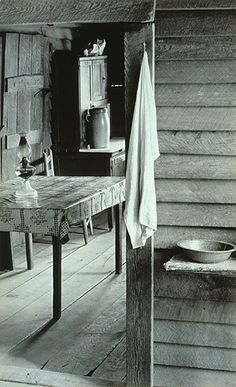 Burroughs Family Cabin, Hale County, Alabama, 1936: Walker Evans (American, 1903–1975) Gelatin silver print
