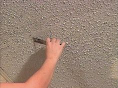 If your acoustic ceiling has cracks, you can repair them with a patching compound designed for textured ceilings. The experts at the DIYNetwork.com show you how.