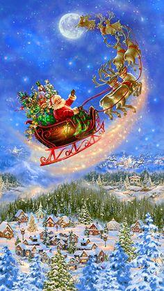 Christmas Fabric, Christmas Art, Christmas Holidays, Retro Christmas, Christmas Wreaths, Merry Christmas Gif, Christmas Costumes, Christmas Stuff, Christmas 2019