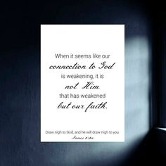 Faith Quote Printable - Christian Wall Text Print - 5 x 7 Digital Image Download - Our Connection to God