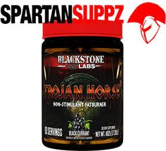Blackstone Labs Trojan Horse  Unique non-stimulant fat burner from our brothers at Blackstone Labs is dropping real soon  Take your cutting program to the next level!