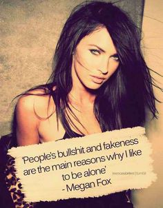 Megan Fox is amazing This quote is so true. Great Quotes, Quotes To Live By, Funny Quotes, Inspirational Quotes, Random Quotes, Awesome Quotes, Meaningful Quotes, Humorous Sayings, Nice Sayings
