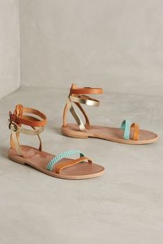Joie Vista Sandals Sky Sandals #anthrofave