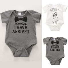 Baby boy #girls cotton romper #jumpsuit bodysuit newborn kids #clothes outfit 0-1,  View more on the LINK: 	http://www.zeppy.io/product/gb/2/331854172588/