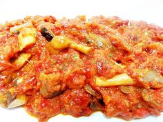 Zacusca de ciuperci Tapas, Macaroni And Cheese, Curry, Veggies, Chicken, Meat, Cooking, Ethnic Recipes, Food