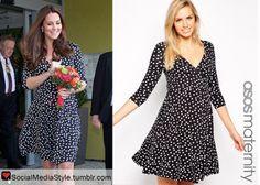 Buy Kate Middleton's Polka Dot Maternity Dress, here!