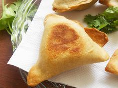 Baked Punjabi Samosa....learn how to make whole wheat samosa wrappers at home....and how to bake them....with nutrition chart at the end of the post.