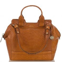 Soft, comfotable and a timeless shape & style. The brown #atelier hingham satchel. #brahmin #spring2013