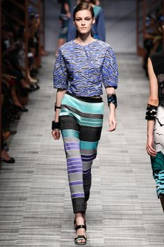 Missoni Runway Show, Milan Fashion Week, Ready-to-wear, summer-spring 2014, #MFW #RTW #Fashion from Vogue.fr
